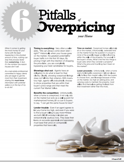 6 pitfalls of overpricing