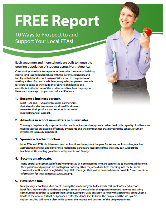 10 ways to prospect to schools