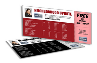 Neighborhood update postcards