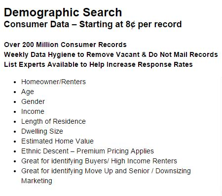 pp demographic search data