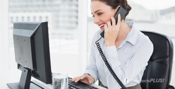 your first phone call to an online lead, real estate