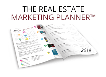Real Estate Marketing Planner 2019 New