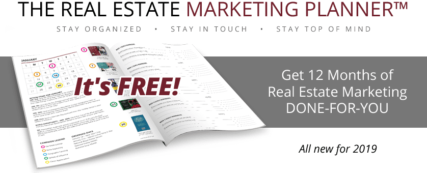 Real Estate Marketing Planner 2019